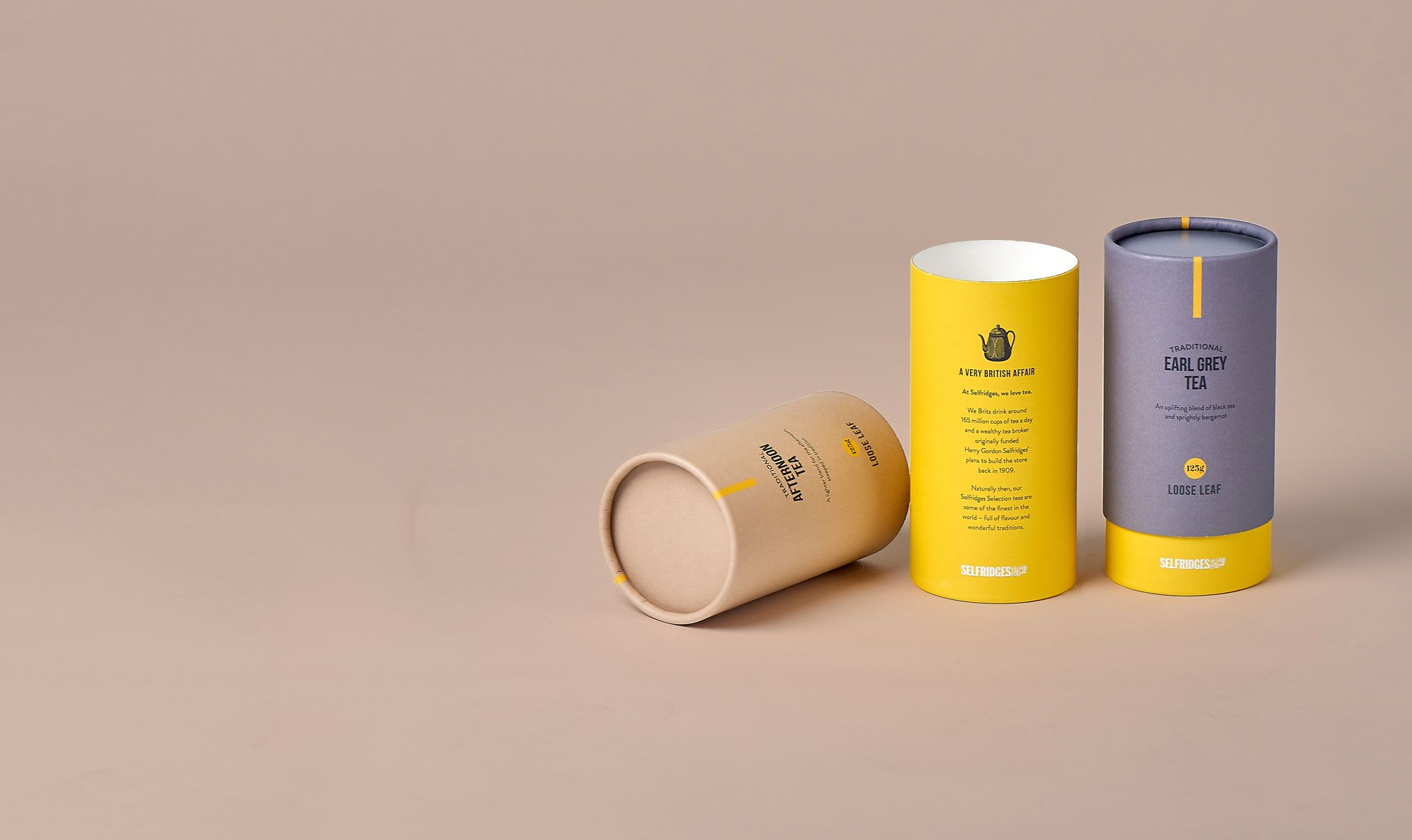 Eco Friendly Cylinder tube packaging UK